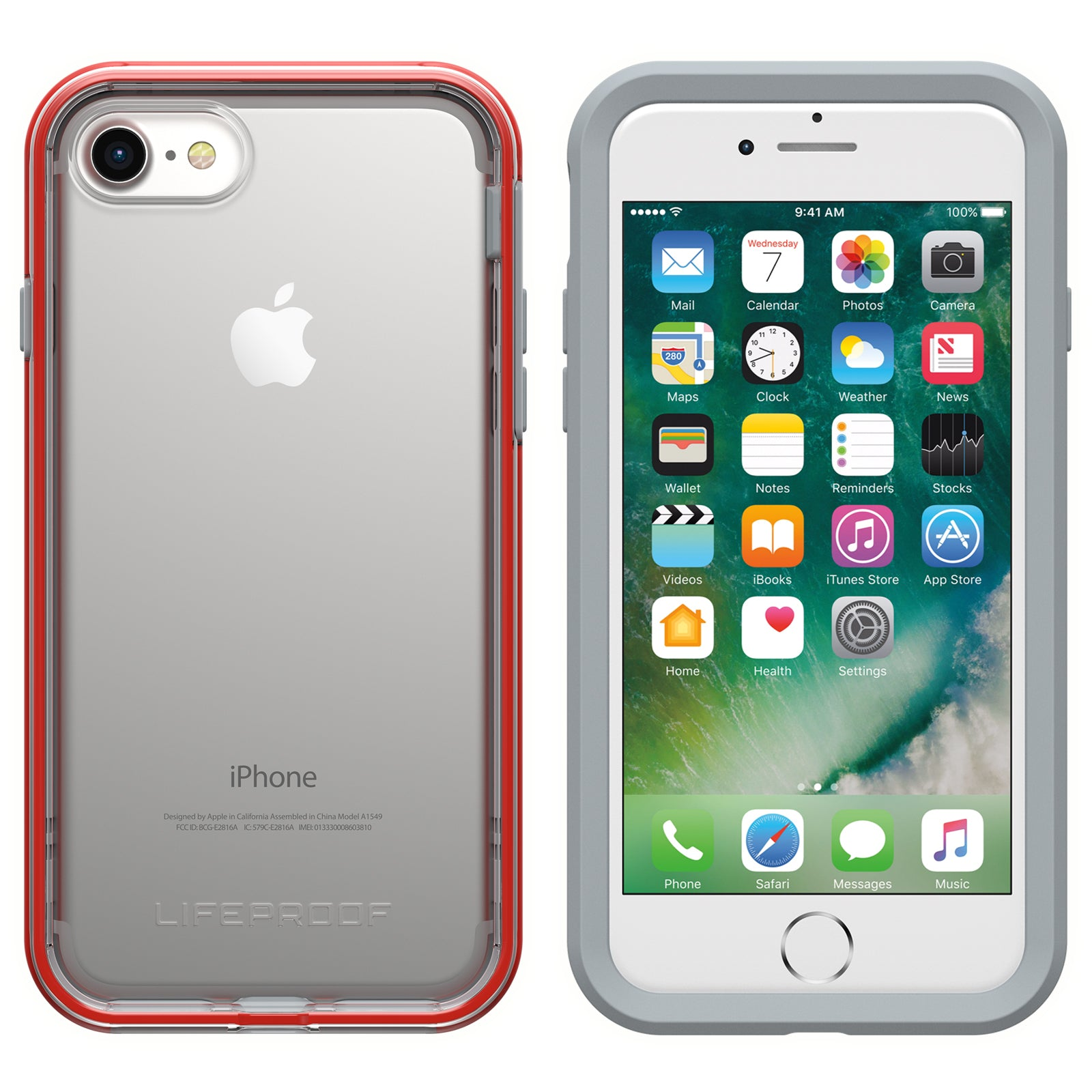 reputable site 0b78c 83394 Lifeproof SLAM Case For iPhone 7/8 - Lava Chaser