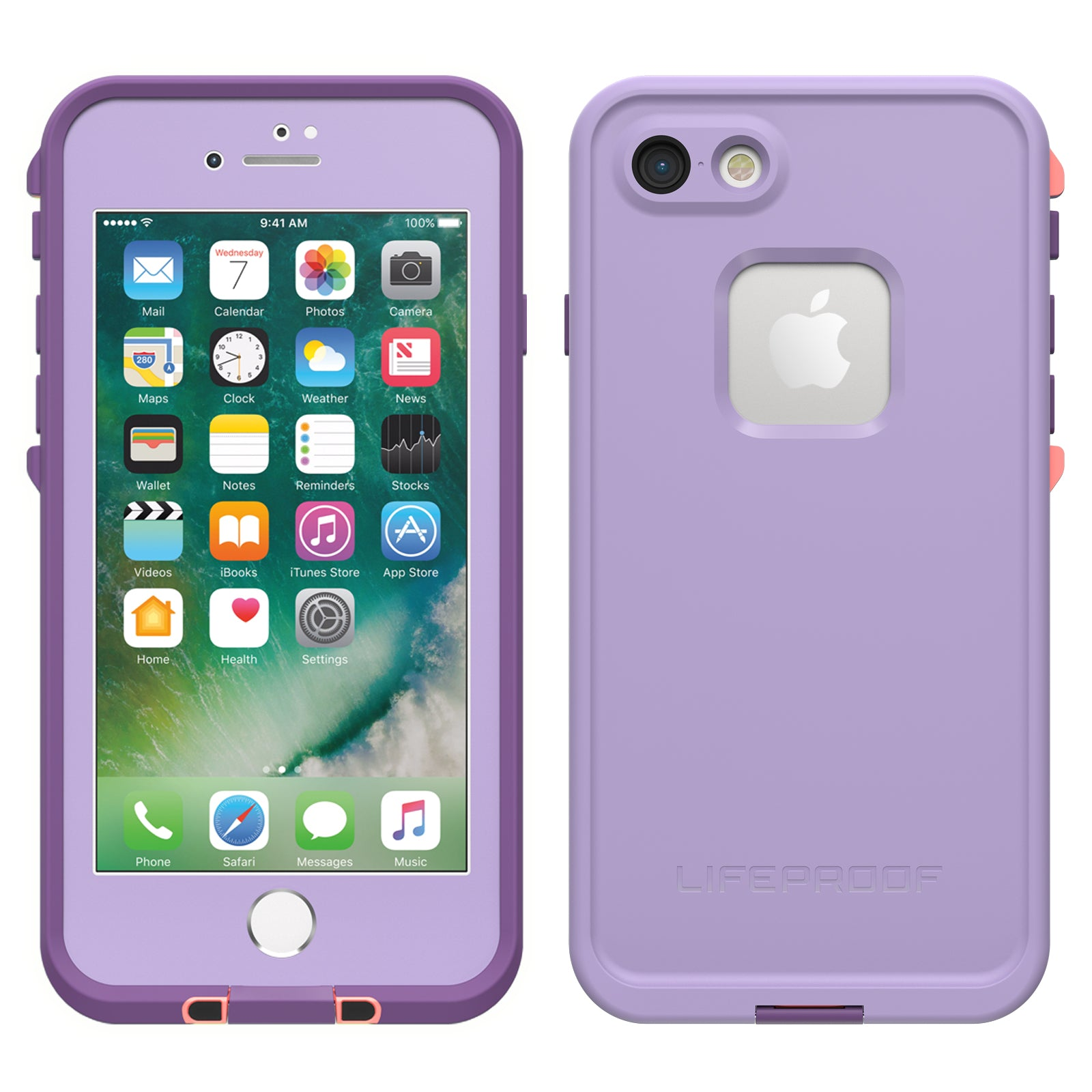 Lifeproof Fre Case For Iphone 87 Chakra Purple Ryphone