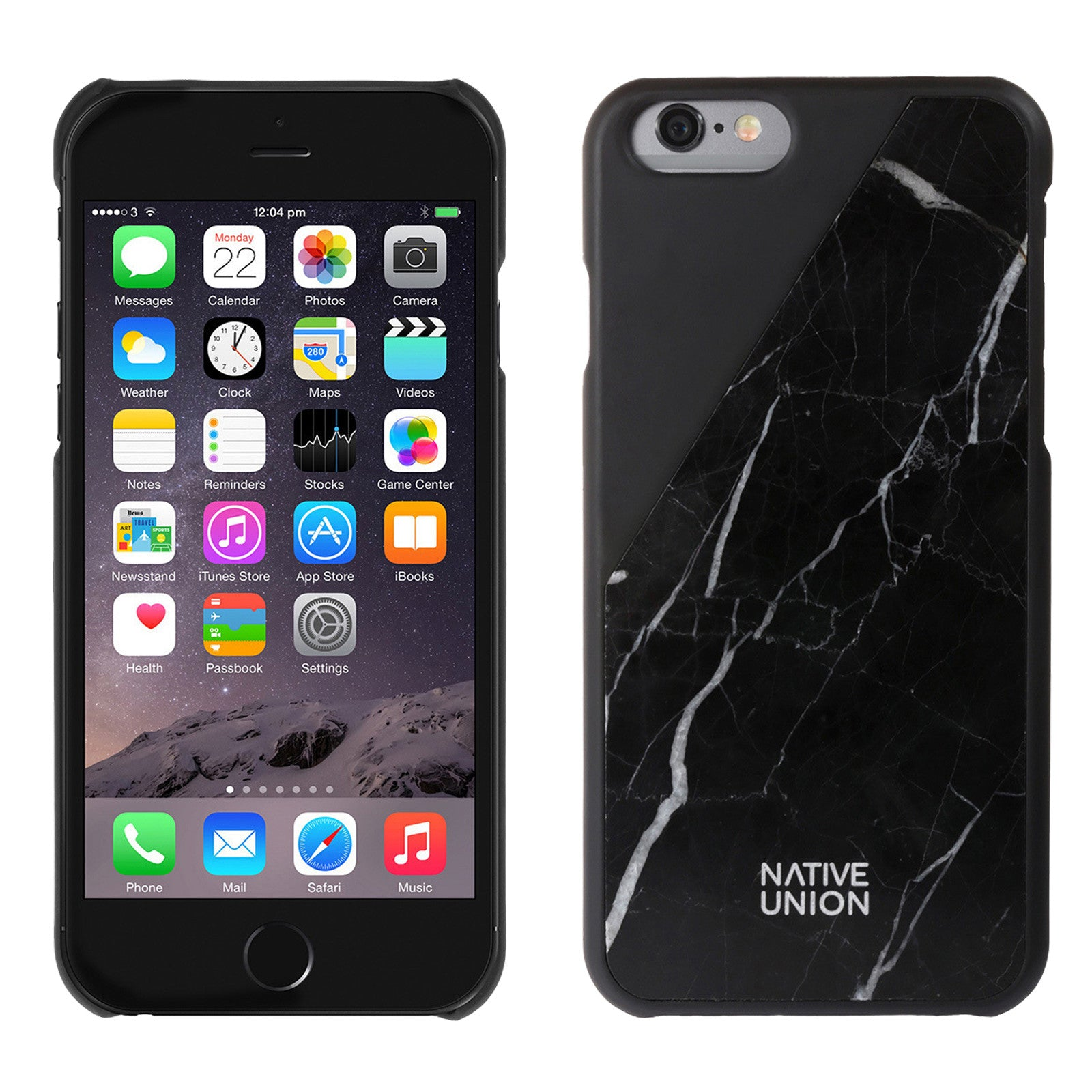 lowest price 13340 3612c Native Union Marble Case iPhone 6/6S - Black