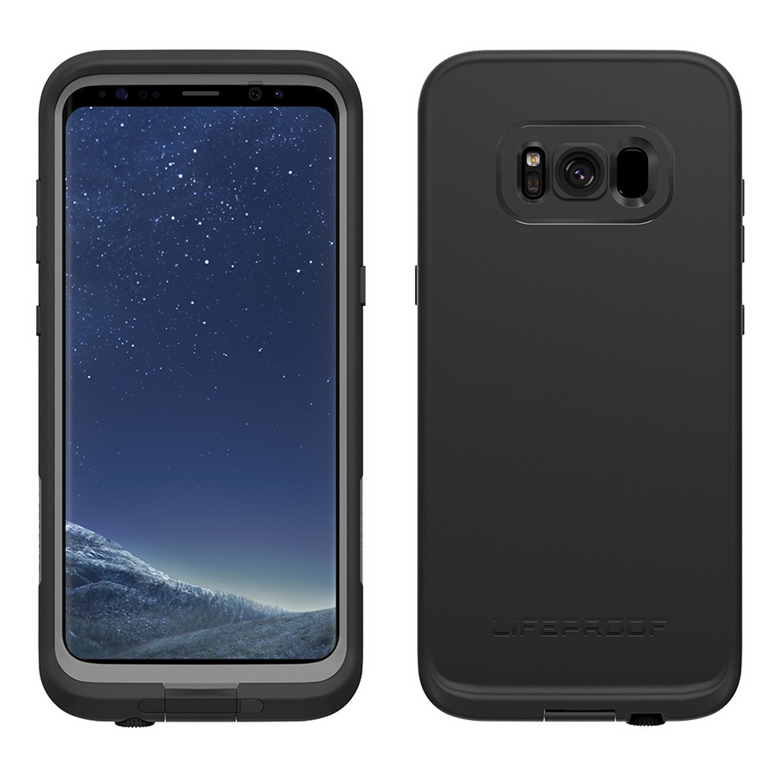 the latest 077b4 601f9 Lifeproof Fre Case For Samsung Galaxy S8 Plus - Asphalt Black