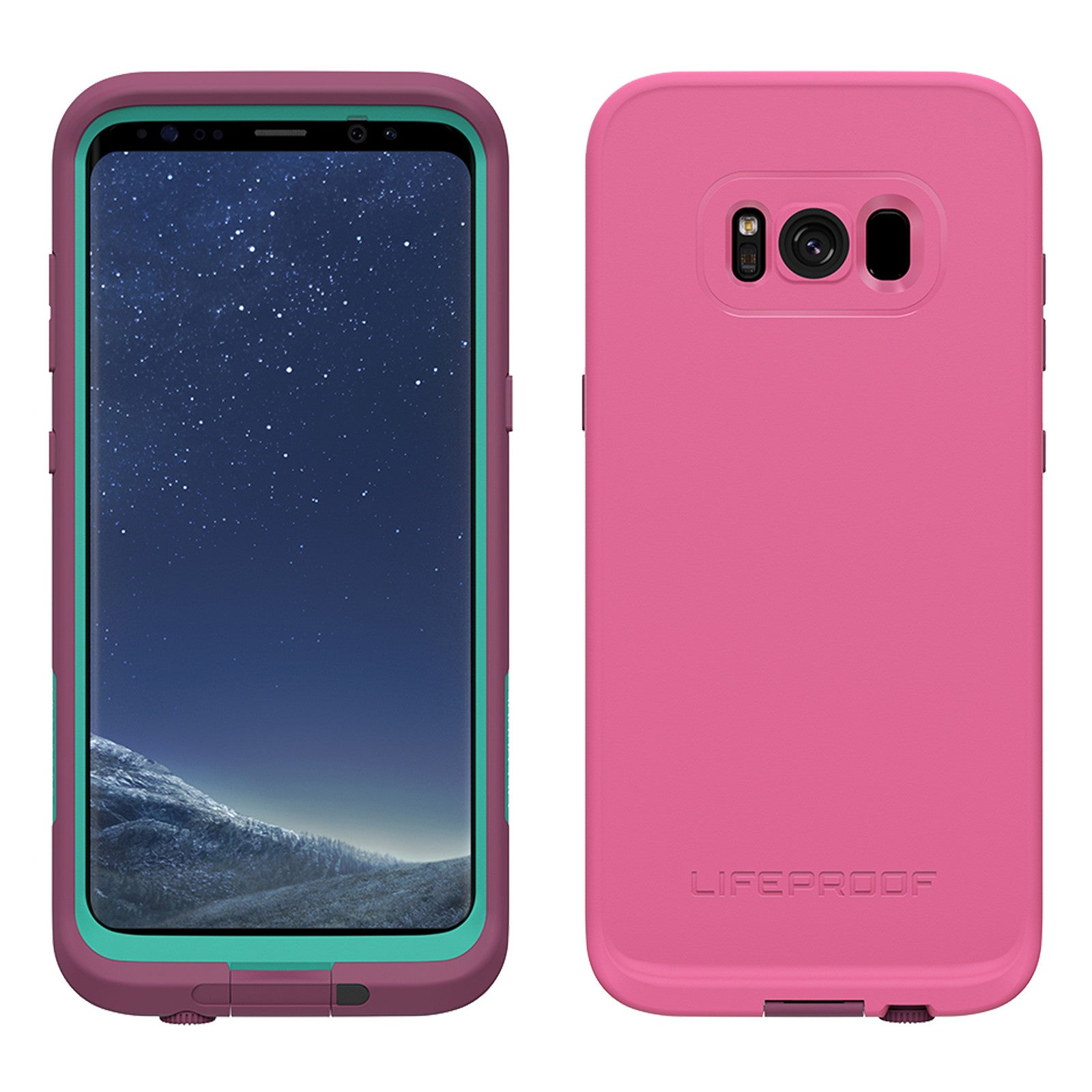 low priced 323f6 cfba3 Lifeproof Fre Case For Samsung Galaxy S8 - Twilights Edge Purple
