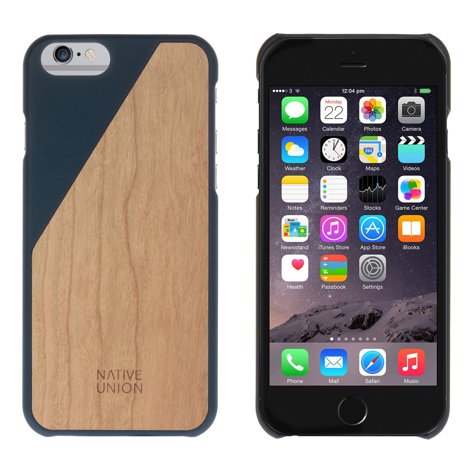 newest 6a1a2 0da0f Native Union CLIC Wooden For iPhone 6/6S Plus - Marine