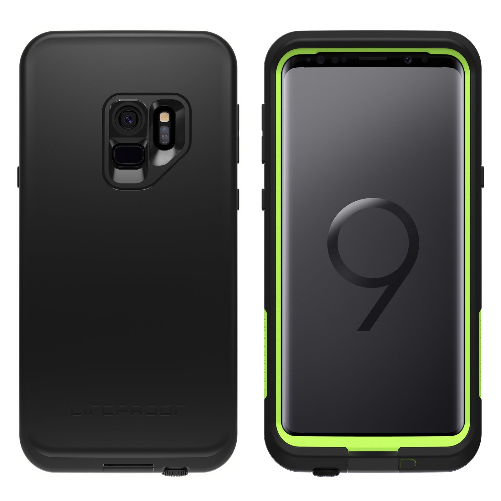 timeless design 4eec2 6bd03 Lifeproof Fre Case For Samsung Galaxy S9 PLUS - Night Lite Black