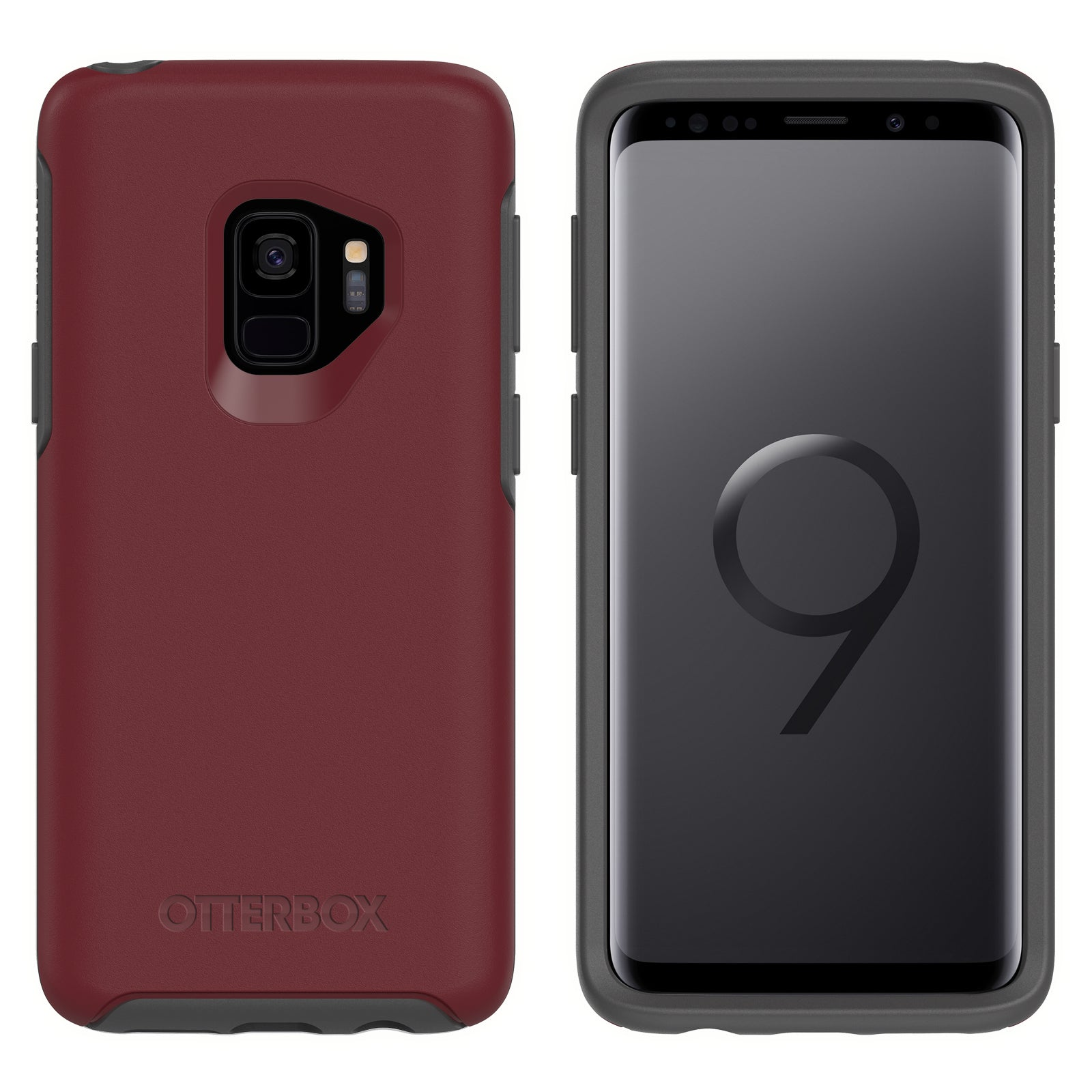 best website 588c3 f4bed OtterBox Symmetry case for Samsung Galaxy S9 - Fine Port