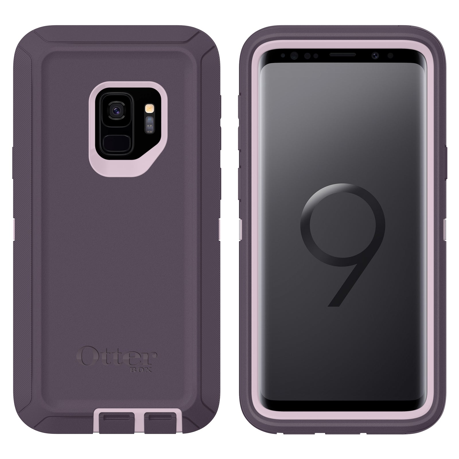 online store 3068c 5aa25 Otterbox Defender Case For Samsung Galaxy S9 - Purple Nebula
