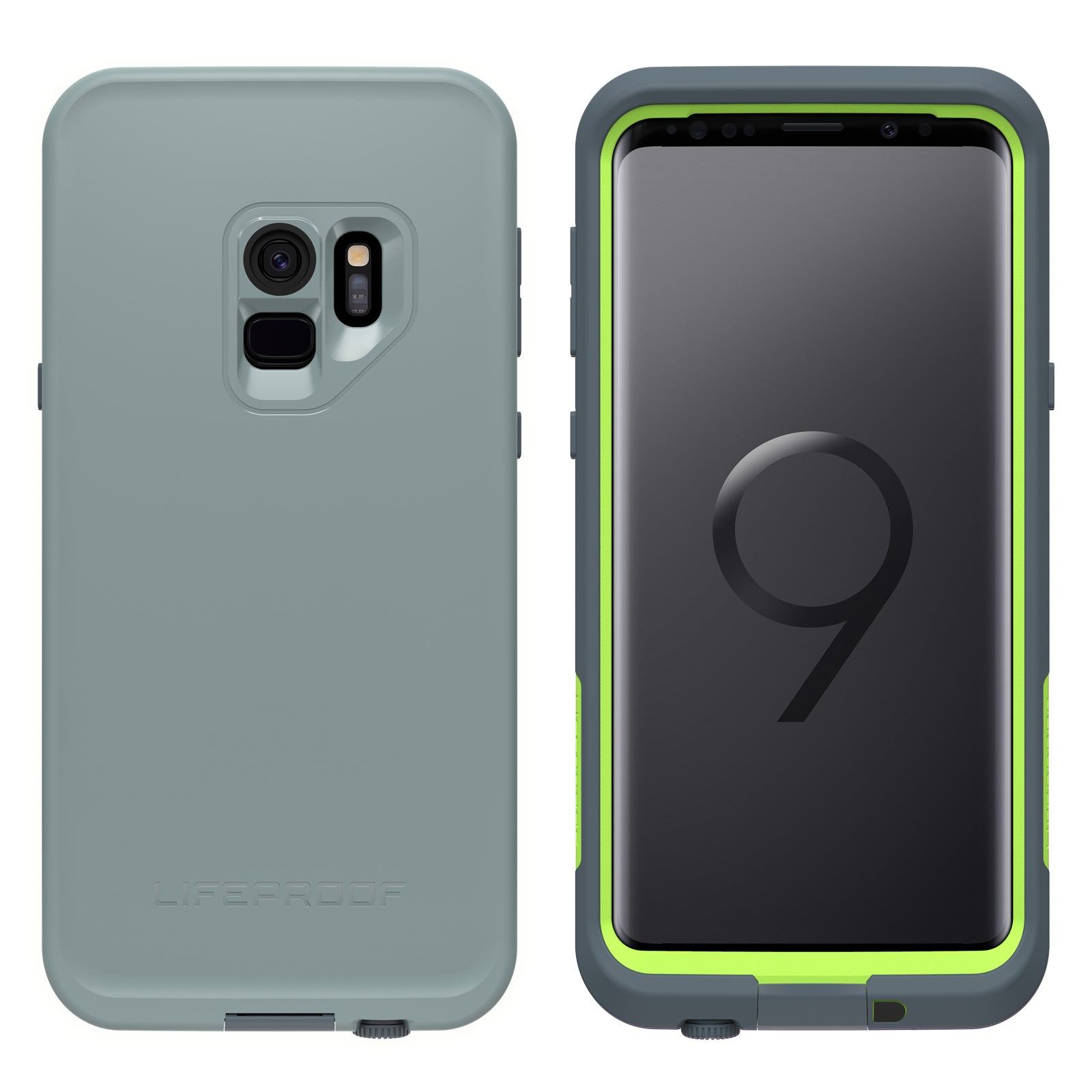 best sneakers a928f ead6a Lifeproof Fre Case For Samsung Galaxy S9 PLUS - Drop In Grey