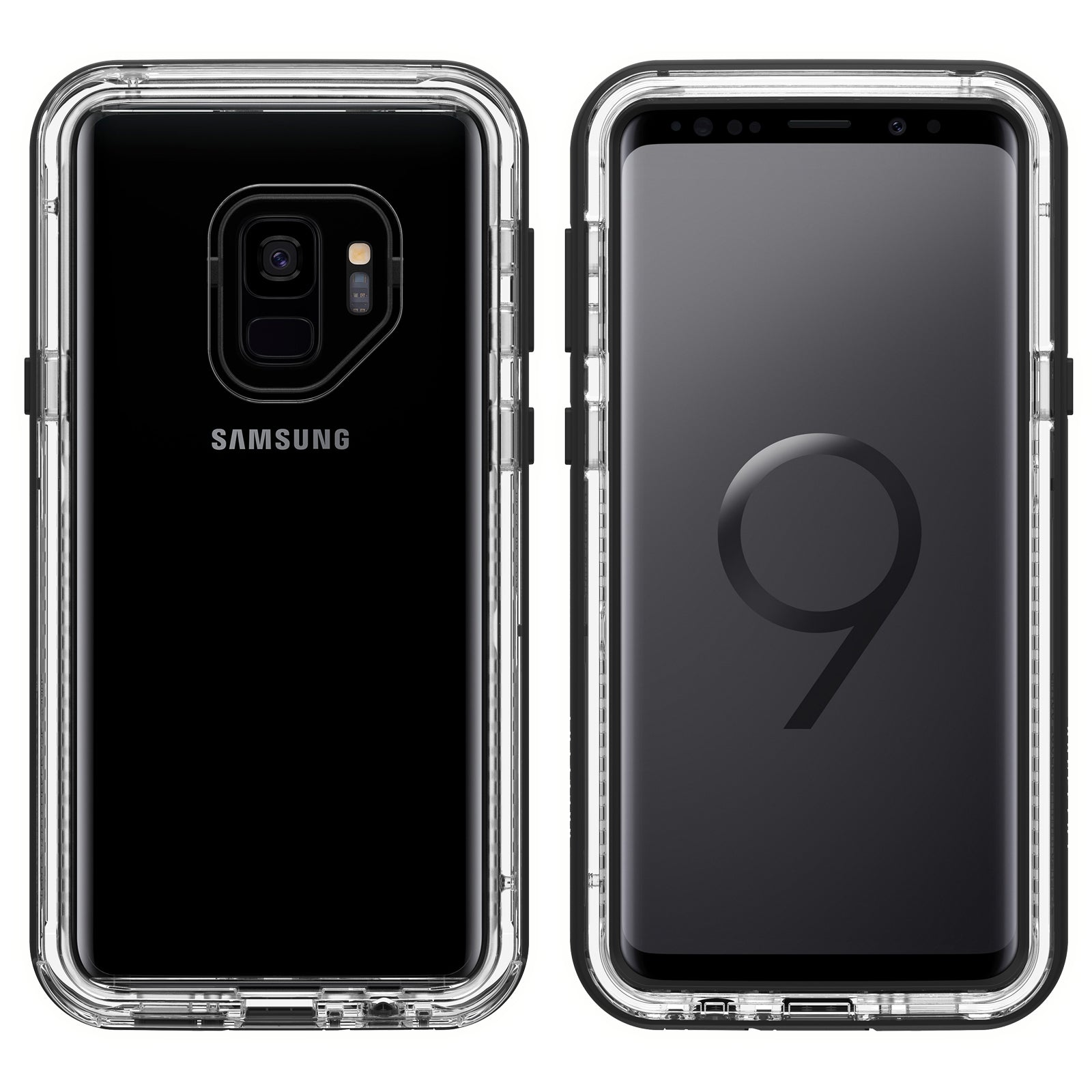 competitive price 9f450 23ad0 Lifeproof NEXT Case For Samsung Galaxy S9 Plus - Clear/Black