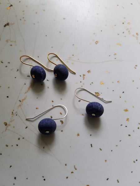 Little Stone Drop Earrings