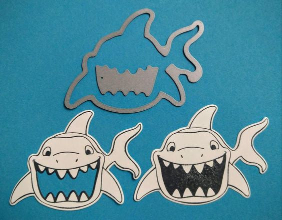 Sharkie shaker card