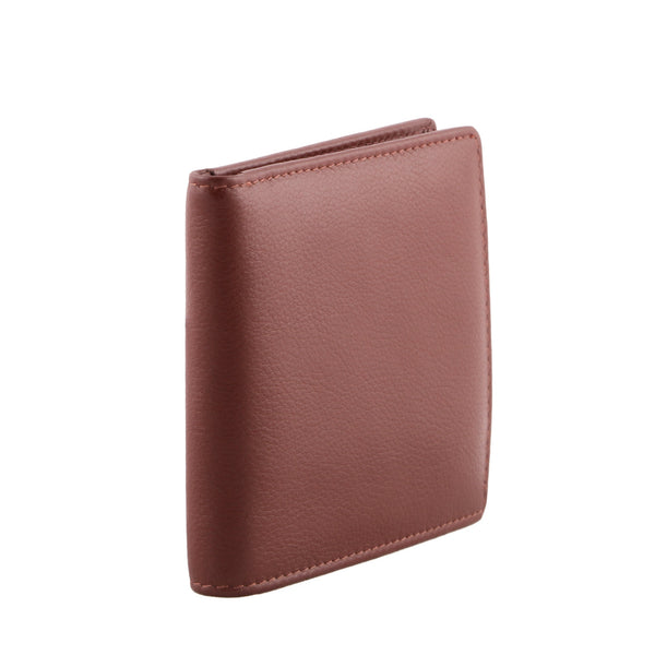 Official Designer Genuine Leather Men Brown Billfold Wallet - WeMe