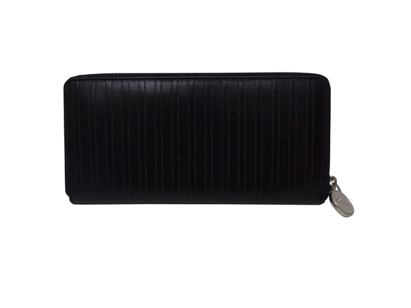Paris Genuine Waxy Women Black Clutch Wallet - WeMe