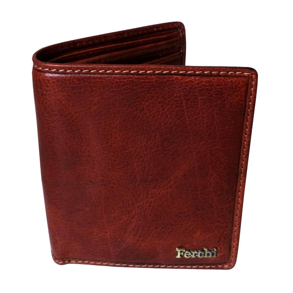 Boston Genuine Leather Waxy Men Tan Billfold Wallet - WeMe