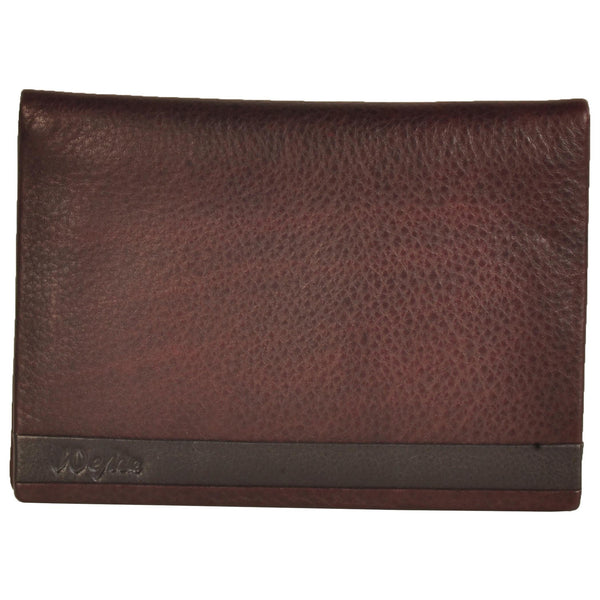 Zen Genuine Leather Unisex Brown Passport Cover - WeMe
