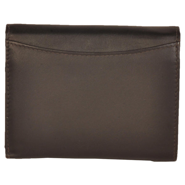 Paris Genuine Waxy Women Brown Clutch Wallet - WeMe
