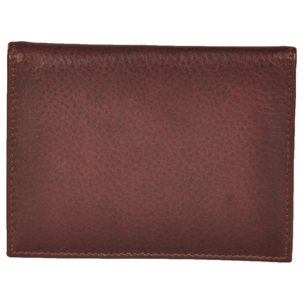 Zen Genuine Leather Unisex Brown Croco Card Holder - WeMe