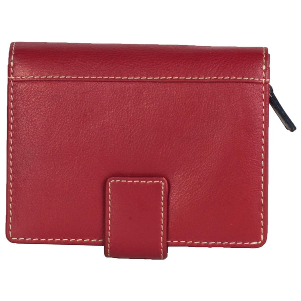 Paris Genuine Leather Women Red Clutch Wallet - WeMe