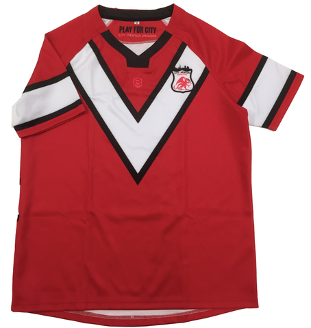 City-Newton Dragons jersey