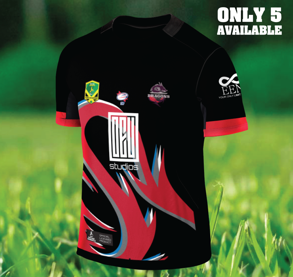 Limited edition Jamaica NCC club jersey