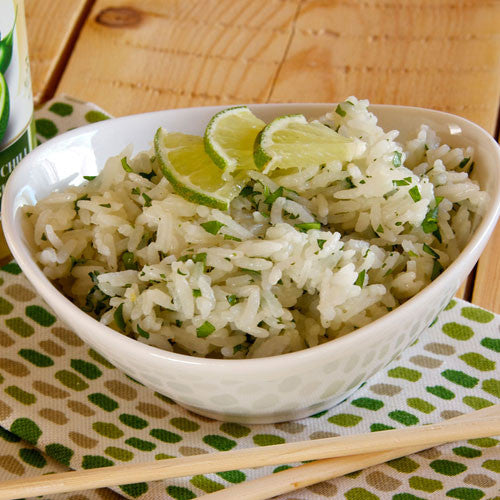 COCONUT CILANTRO LIME RICE (Key Lime Tangerine Chili Marinade & Dressing)