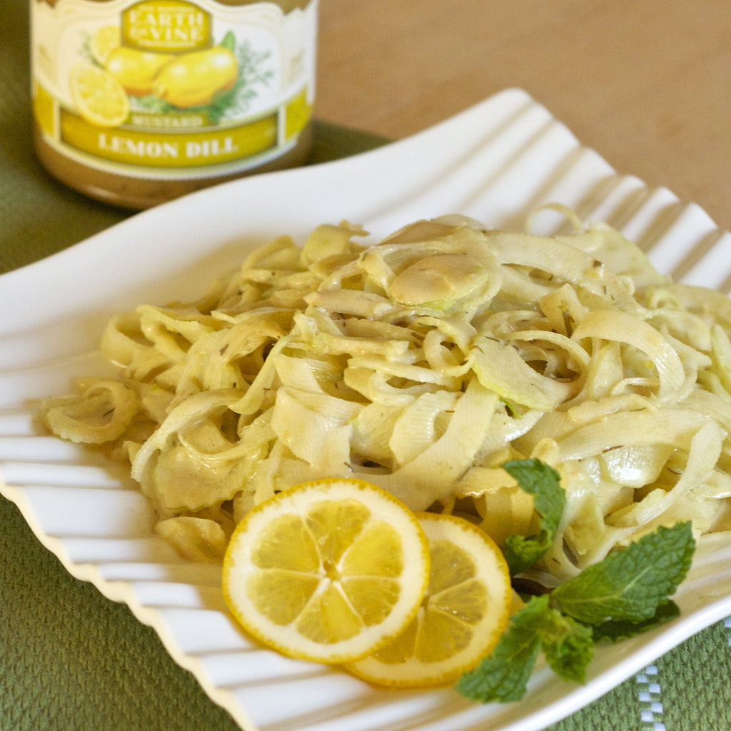 LEMON FENNEL SLAW (Lemon Dill Mustard)