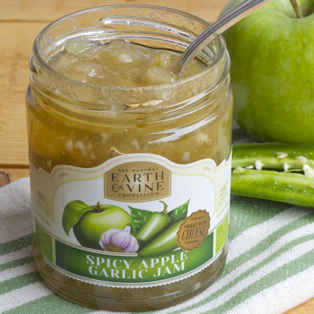 SPICY APPLE GARLIC JAM