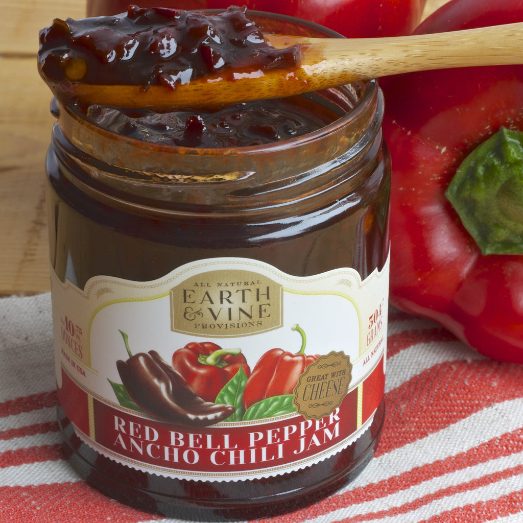 RED BELL PEPPER ANCHO CHILI JAM