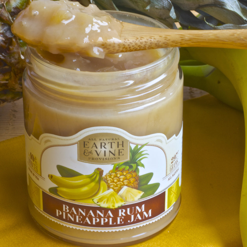 BANANA RUM PINEAPPLE JAM