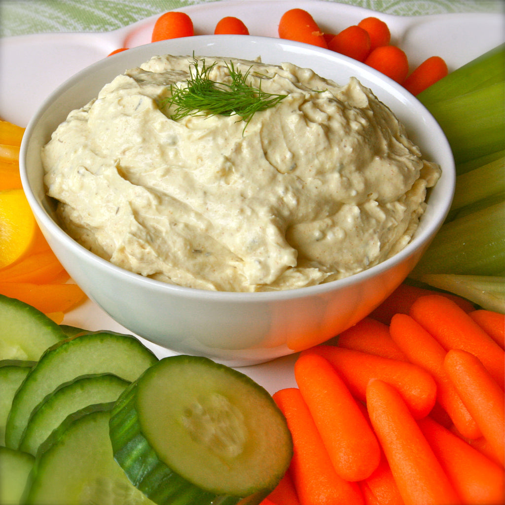 LEMON DILL DIP (Lemon Dill Mustard)