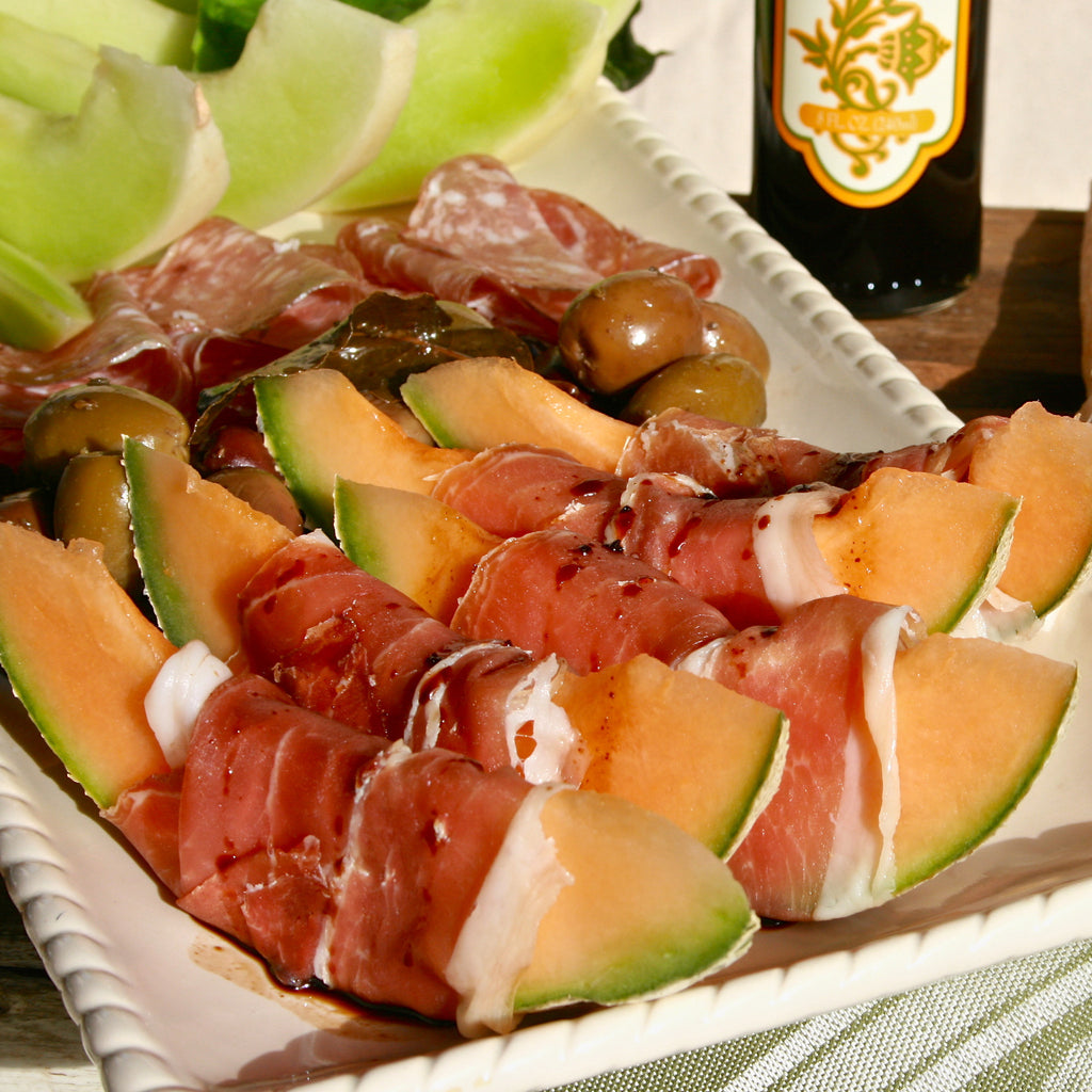ANTIPASTO PLATTER (Tangerine Fig Balsamic Finishing Sauce)