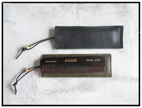 Bensenhaver Pouch with Kent Comb