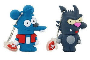 Itchy & Scratchy The Simpsons USB 3.0 Flash Drive - Titan Design & Technology - 1