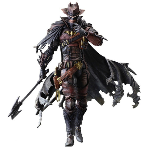 DC Comics: Batman Timeless Wild West Red Version Limited Edition 27cm Figure [SQUARE ENIX]
