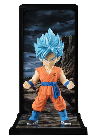 Dragon Ball Super: Super Saiyan God Goku 9cm [Tamashii Buddies]