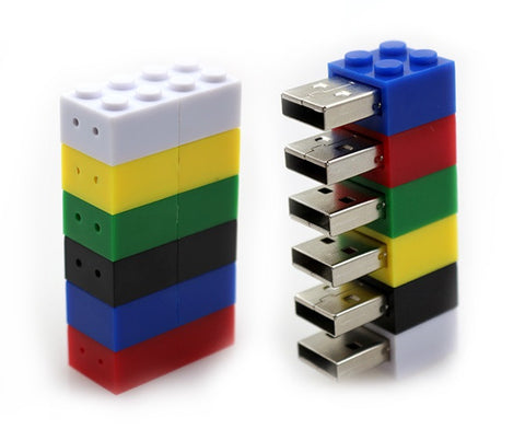 Lego Block USB 2.0 Flash Drive - Titan Design & Technology - 1