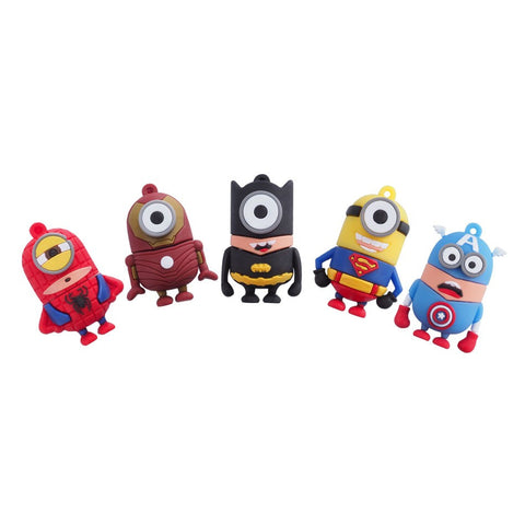 Despicable Me Super Hero Minions USB 2.0 Flash Drive