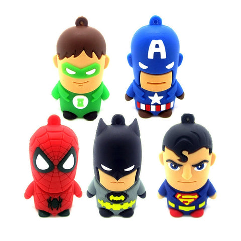 Marvel & DC Superheroes USB 2.0 Flash Drive - Titan Design & Technology - 1