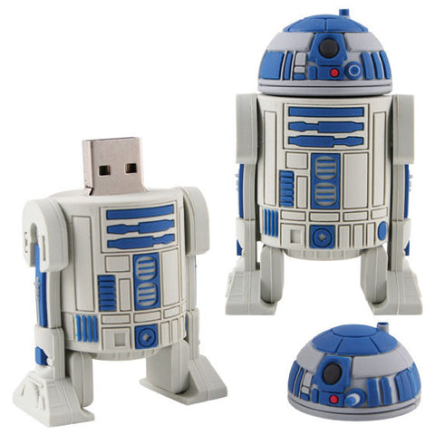 R2D2 Star Wars USB 2.0 Flash Drive - Titan Design & Technology