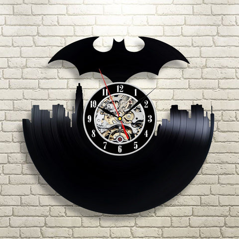 Batman DC Vinyl Record Wall Clock - Titan Design & Technology