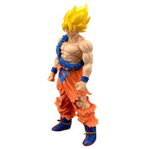 Dragon Ball Z: Super Saiyan Goku Battle Worn Version 43cm Figure