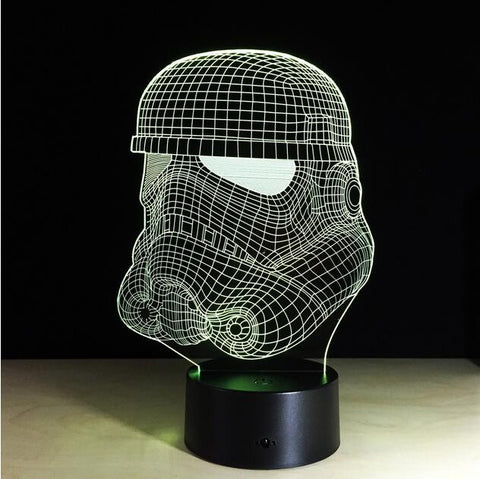 Stormtrooper Star Wars 3D Night Light - Titan Design & Technology