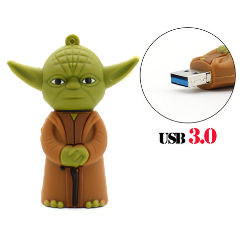 Master Yoda Star Wars USB 3.0 Flash Drive - Titan Design & Technology - 1