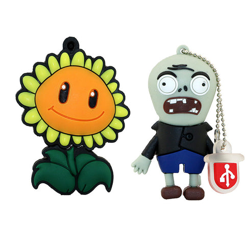 Plants vs. Zombies USB 2.0 Flash Drive - Titan Design & Technology - 1