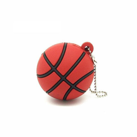Basketball USB 2.0 Flash Drive - Titan Design & Technology - 1