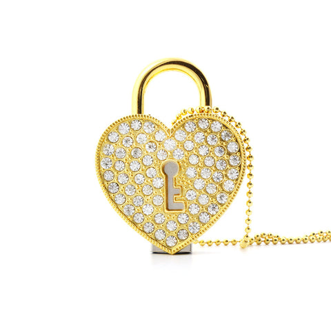 Heart Necklace USB 3.0 Flash Drive - Titan Design & Technology - 1