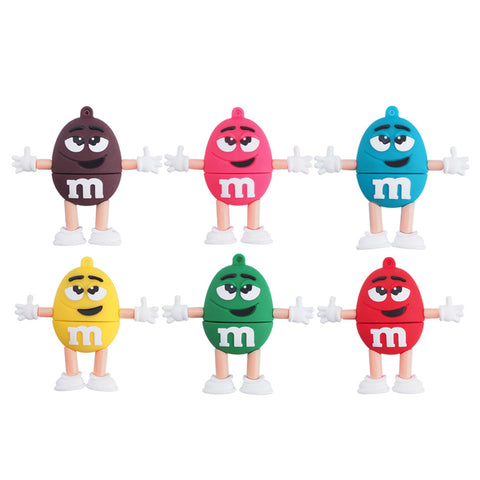 M&M's USB 2.0 Flash Drive - Titan Design & Technology - 1