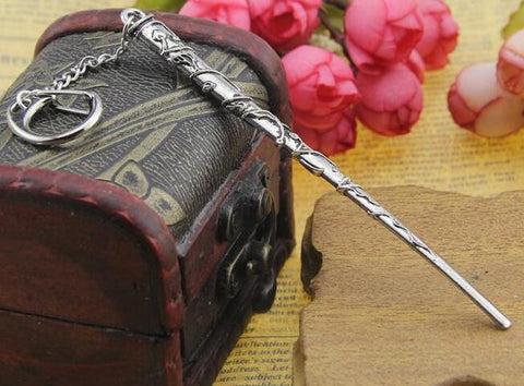 Harry Potter Magic Wand Necklaces & Key Chains - Titan Design & Technology - 2