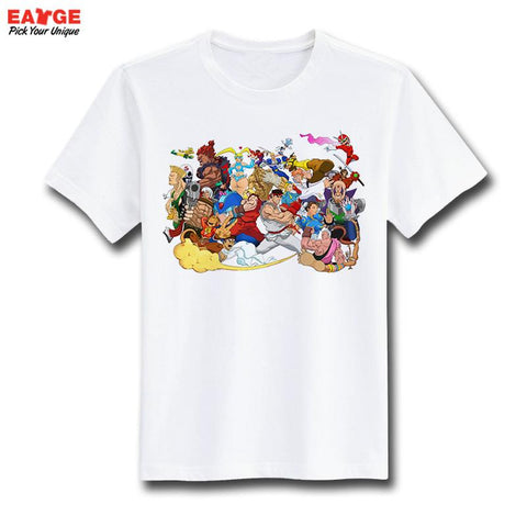 Street Fighter Characters Men's T-Shirt - Titan Design & Technology - 1