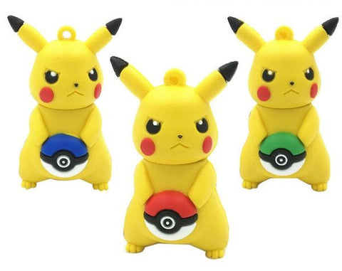 Pokemon Pikachu USB 2.0 Flash Drive - Titan Design & Technology - 1