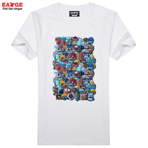 Block Heads Unisex T-Shirt - Titan Design & Technology - 1