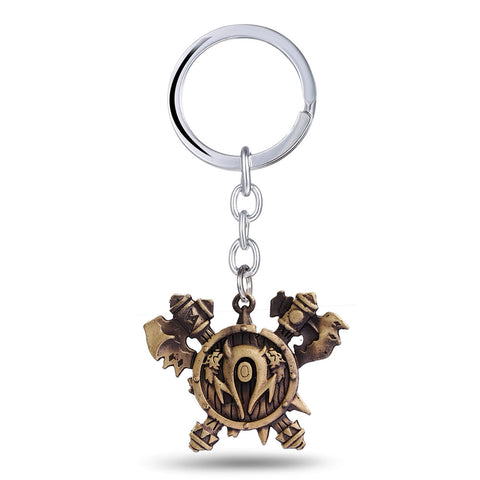 World of Warcraft Horde Orcish Tribe Key Chain - Titan Design & Technology - 1